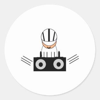 Musik DJ Runt Klistermärke