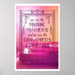 Musik, drömmar och minnen posters