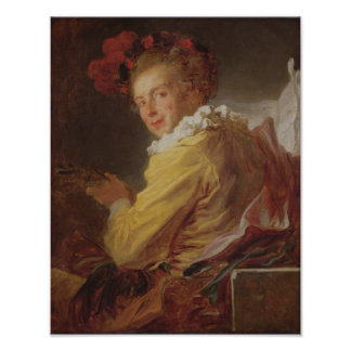 Musik ett porträtt av Monsieur de la Breteche Poster