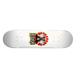 Musik för huvud 4 old school skateboard bräda 21,6 cm