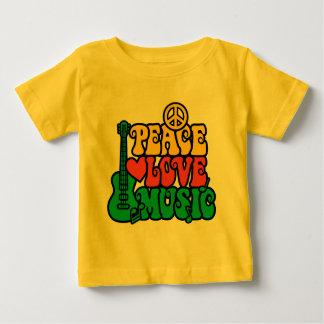 Musik för Reggaefredkärlek T-shirts