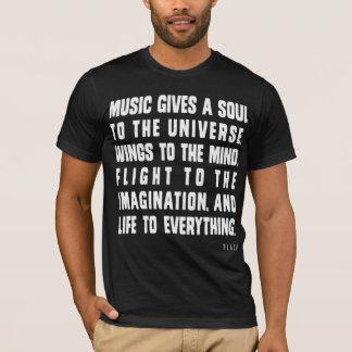 Musik ger en Soul till universum T-shirt