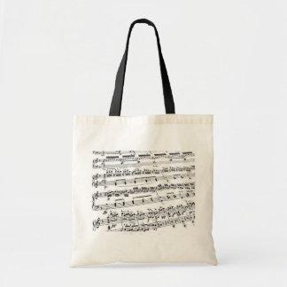 Musik ha som huvudämne/studenten/lärare budget tygkasse