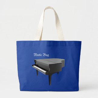 Musik hänger lös, pianot jumbo tygkasse