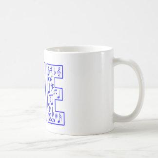 musik i mig kaffemugg