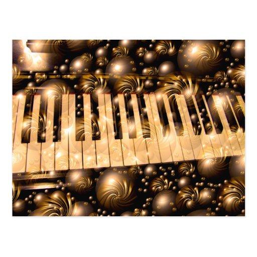 Musik i mig, musik i you_ vykort