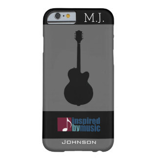 musik-inspirerat/gitarr barely there iPhone 6 skal