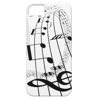 Musik iPhone 5 Case-Mate Skydd