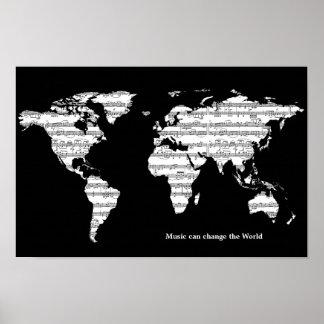 musik kan ändra världen poster
