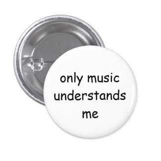 Musik knäppas mini knapp rund 3.2 cm
