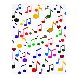 Musik Love_Flyer Reklamblad 21,5 X 30 Cm
