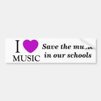 Musik Lover_ Bildekal