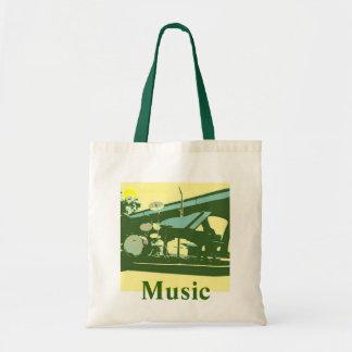 Musik/musiker/lärare Budget Tygkasse