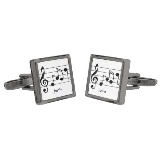 Musik noterCufflinks