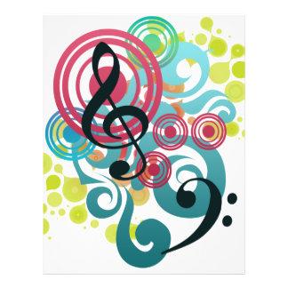 Musik Reklamblad 21,5 X 30 Cm
