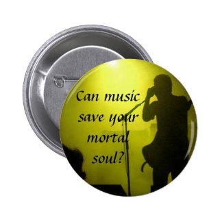 Musik sparar standard knapp rund 5.7 cm