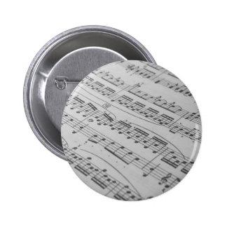 Musik Standard Knapp Rund 5.7 Cm