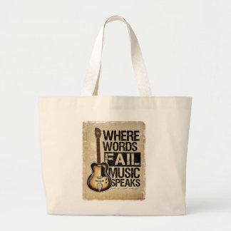 musik talar tygkasse