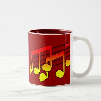 Musik Två-Tonad Mugg