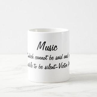 Musik uttrycker… kaffemugg