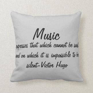 Musik uttrycker… kudde