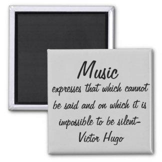 Musik uttrycker… magnet