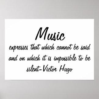 Musik uttrycker… poster