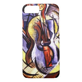 Musikalen instrumenterar fodral för iPhone 7