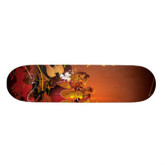 Musikalen stiger ombord old school skateboard bräda 18 cm