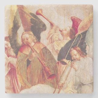 Musikalisk änglar stenunderlägg