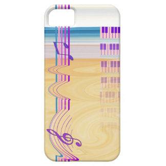 Musikaliskt fantasimobiltelefonfodral iPhone 5 fodral