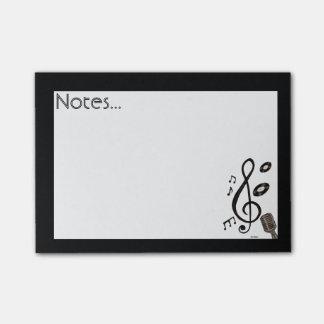 Musikälskare Post-it Lappar