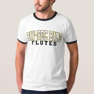 Musikbandet Stråle-Pec blåser flöjt skjortan Tee Shirt