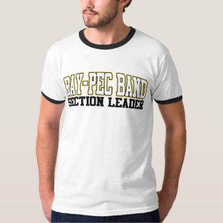 Musikbandet Stråle-Pec delar upp ledareskjortan T Shirts