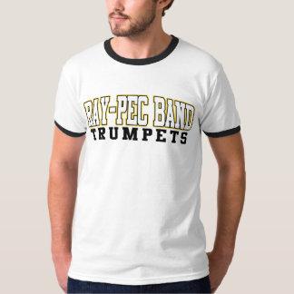 Musikbandet Stråle-Pec trumpetar skjortan Tröjor
