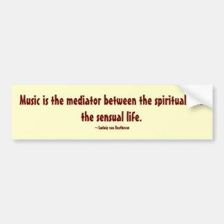 Musikbildekal Bildekal