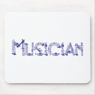 Musiker Mousepad Musmatta