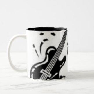 Musiker Två-Tonad Mugg