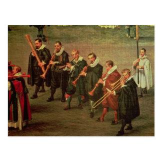 Musiker Vykort