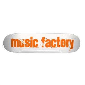 Musikfabrik Skateboard Bräda 20,5 Cm