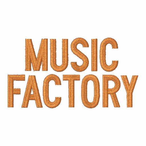 Musikfabriken bemannar hoodien broderad hoodie