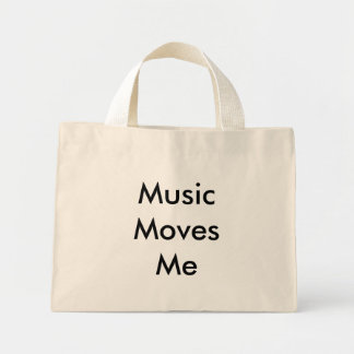 Musikflyttningar mig mini tygkasse