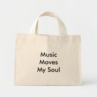 Musikflyttningar min Soul Mini Tygkasse