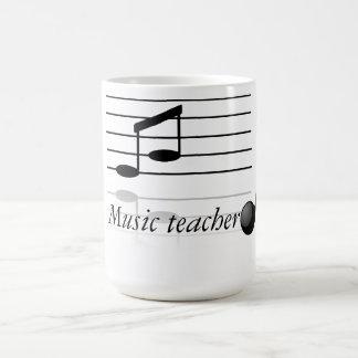 Musiklärare Vit Mugg