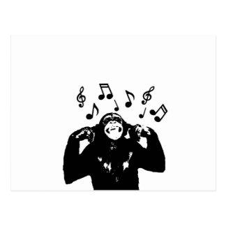 musikmonkeymonkey vykort