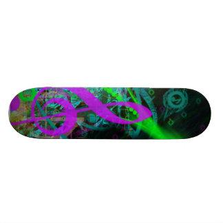 Musikryttare Skateboard Bräda 20 Cm