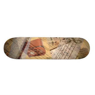 Musikskateboard Skateboard Bräda 20 Cm