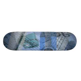 Musikskateboard Skateboard Bräda 21,5 Cm