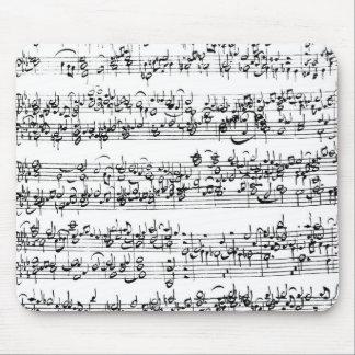 Musikställning av Johann Sebastian Bach Musmatta