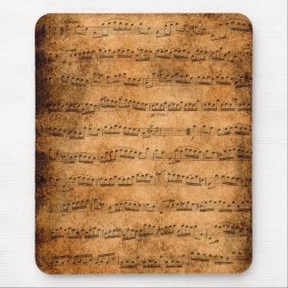 Musikställning - mousepad musmatta